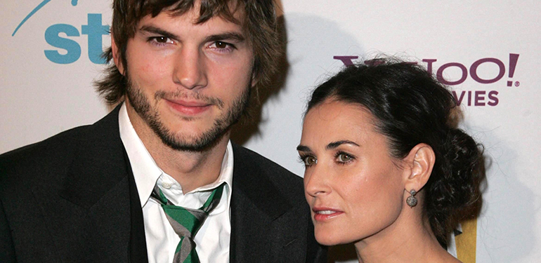 Ashton Kutcher and Demi-Moore