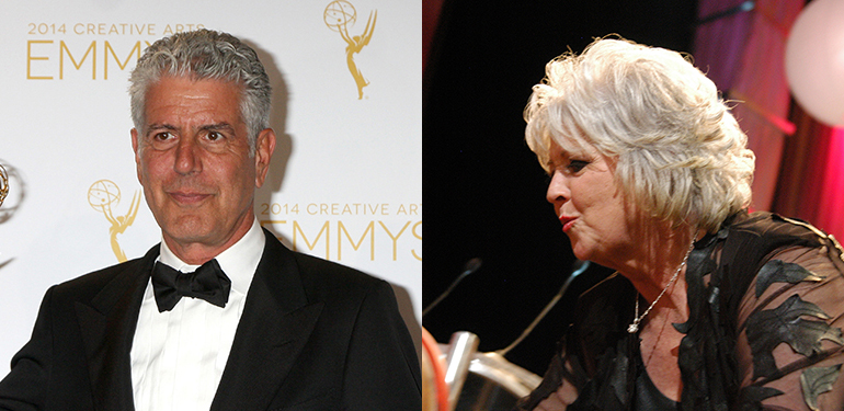 Anthony Bourdain vs. Paula Deen