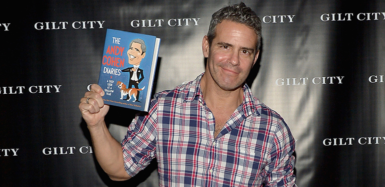 Gilt City Celebrates The Launch Of Andy Cohen's New Book, The Andy Cohen Diaries