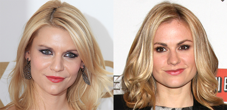 Claire Danes (left) and Anna Paquin