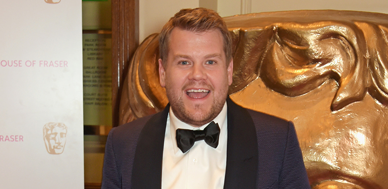 James Corden BAFTA TV Awards