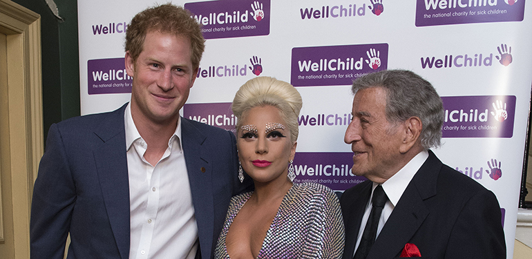 Lady Gaga and Prince Harry