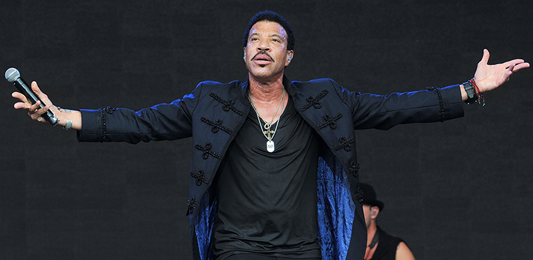 Lionel Richie Glastonbury
