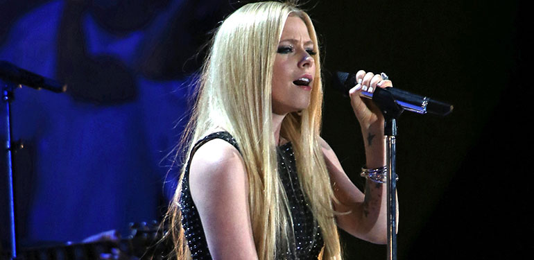 Avril Lavigne Shines in Special Olympic Comeback Performance