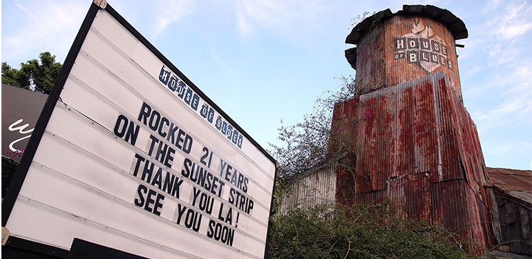 Stars Bid Farewell to Iconic House of Blues Venue