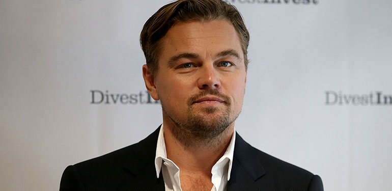 Leonardo DiCaprio Joins Fight against Fossil Fuels