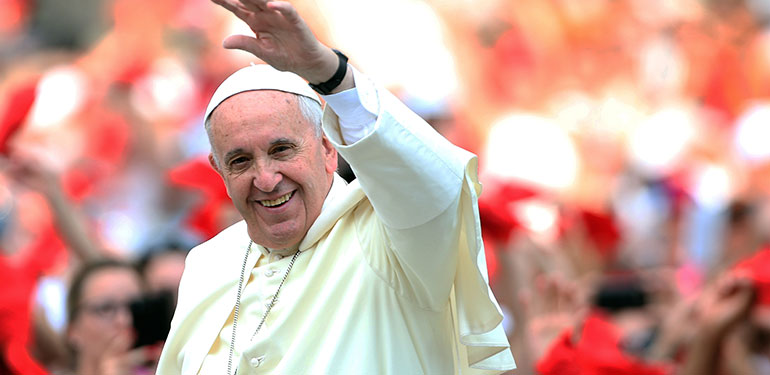 Celebrity-Filled Lineup Announced for Pope Francis Visit