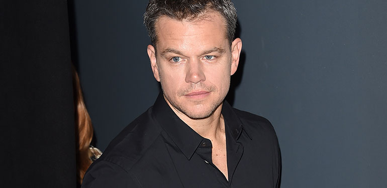 "Matt Damon Calls His Remarks: ""Insensitive"""