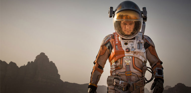 The Martian Opens This Weekend, Bringing Plenty of Oscar Buzz