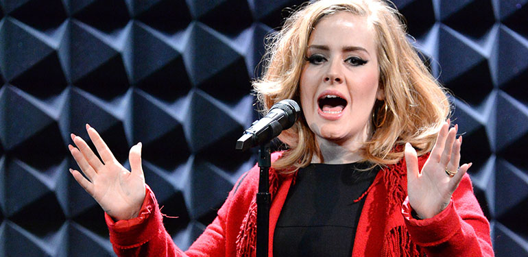 Adele Hits Top Selling Album of 2015 after Just a Few Days