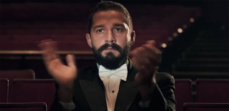 You Can Watch Shia LaBeouf Watch All of His Movies