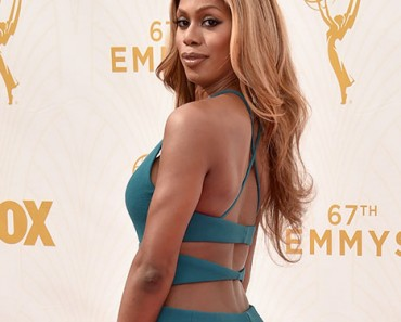 Laverne Cox: The 2015 Emmy Awards