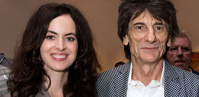 Rolling Stones Rocker Ronnie to Be Father of Twins