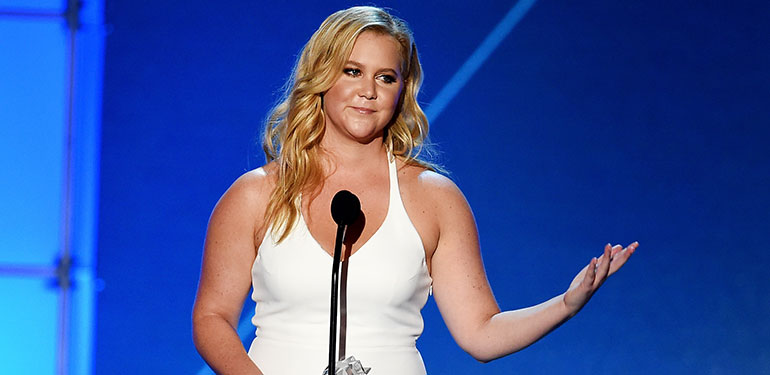 Amy Schumer Explains Why She Has to Write Her Own Roles