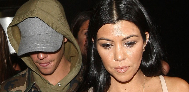 Justin Bieber Responds to Rumors About Kourtney Kardashian
