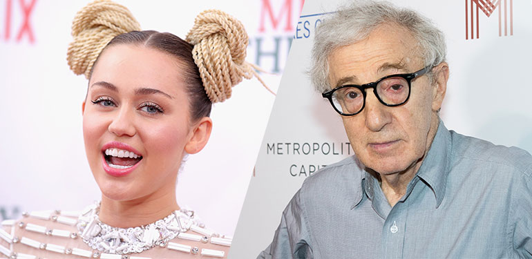 Miley Cyrus to Star in New Woody Allen Amazon Series