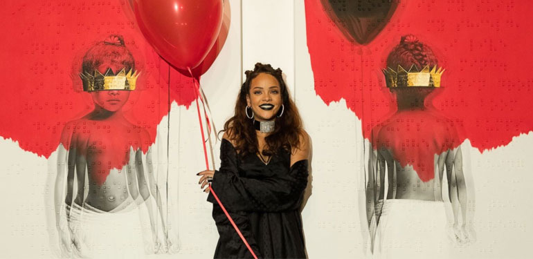 Rihanna's ANTI Album Scores 1 Million Downloads On First Day