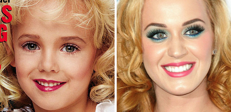 Bizarre Internet Theory Claims Katy Perry Is JonBenet Ramsey