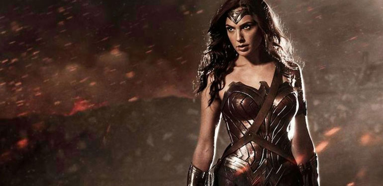 Trafalgar Square Steps Back in Time for Wonder Woman Movie
