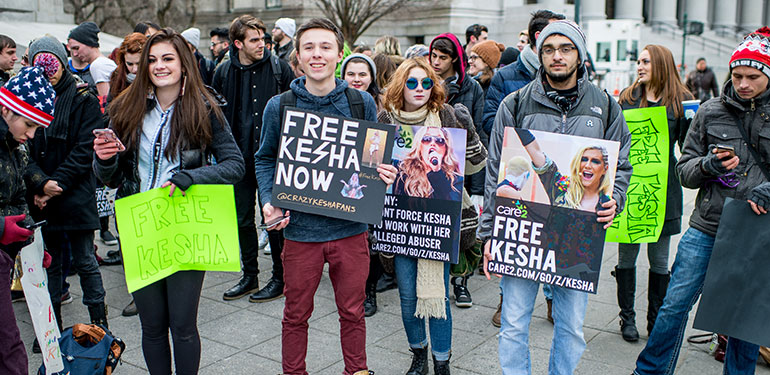 Kesha Supporters to Present Petition to Sony