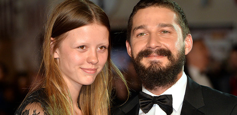 Shia LaBeouf Engaged to Girlfriend Mia Goth