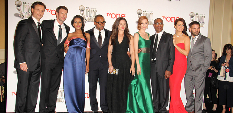 Scandal stars raise money for Hillary Clinton