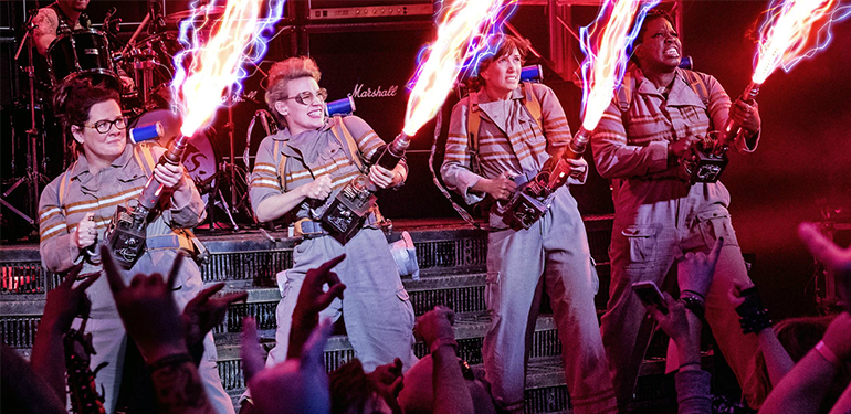 Old and New Ghostbusters Join Together on Jimmy Kimmel